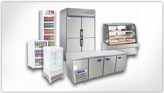 Commercial refrigerators and freezers for the home